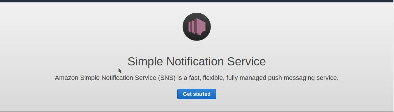 Configure SNS to receive notifications