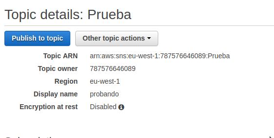 Configure SNS to receive notifications - Macklus Net
